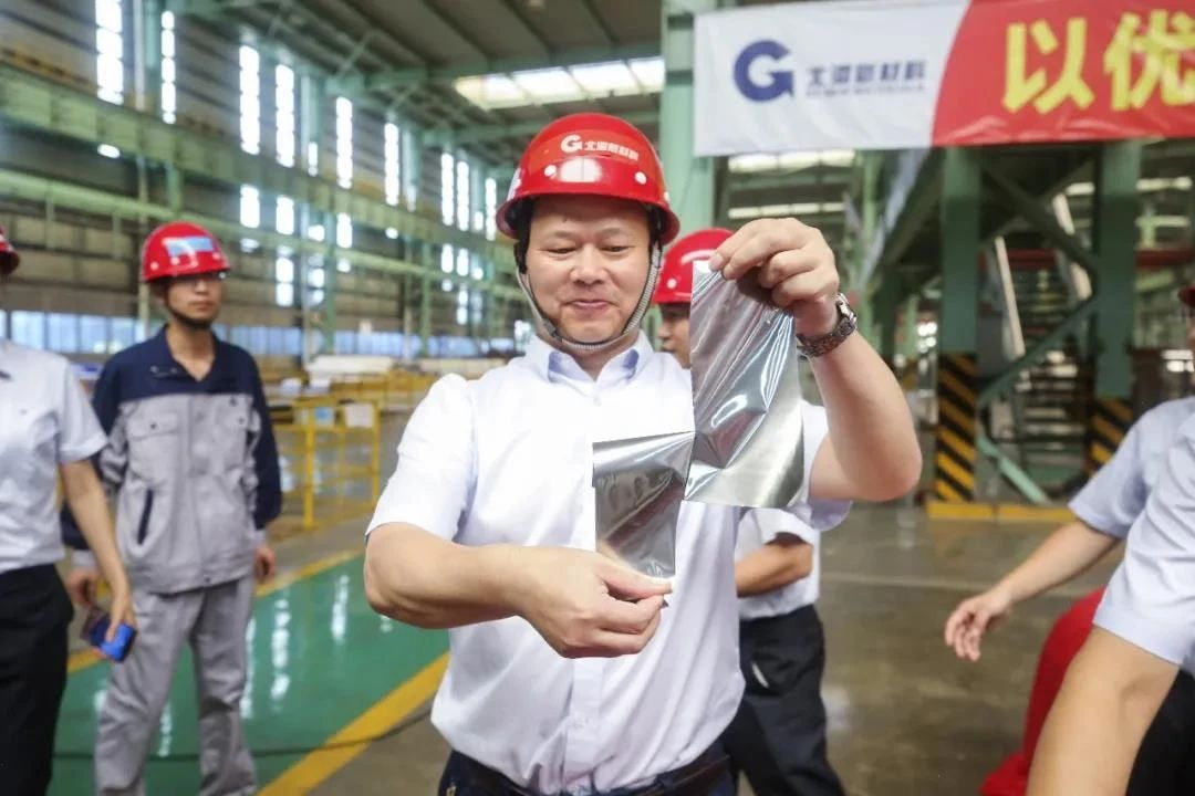 """广西首卷""""手撕钢""""下线 年产量可达6万吨"""